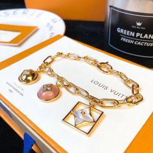 L V bracelets